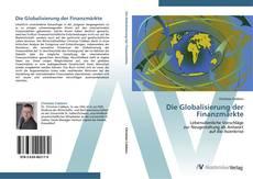 Capa do livro de Die Globalisierung der Finanzmärkte