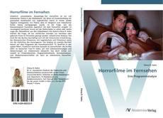 Horrorfilme im Fernsehen kitap kapağı