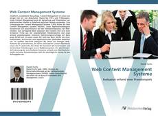 Bookcover of Web Content Management Systeme