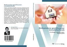Bookcover of Risikoanalyse geschlossener Immobilienfonds