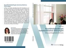 Buchcover von Krankheitsbedingte kommunikative Störungen