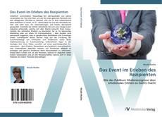 Buchcover von Das Event im Erleben des Rezipienten