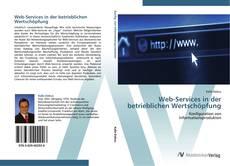 Couverture de Web-Services in der betrieblichen Wertschöpfung
