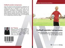 Borítókép a  Fußball-sozialer Lernprozess - hoz