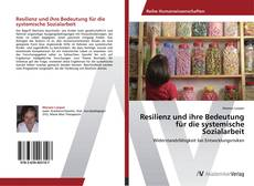 Resilienz und ihre Bedeutung für die systemische Sozialarbeit kitap kapağı
