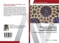 Bookcover of Altern ein kulturelles Geschehen - eine komparative Analyse