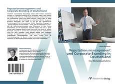 Reputationsmanagement und Corporate Branding in Deutschland kitap kapağı