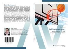 Bookcover of Behindertensport