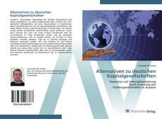 Bookcover of Alternativen zu deutschen Kapitalgesellschaften