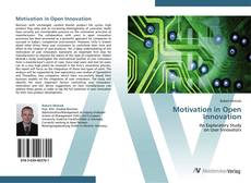 Couverture de Motivation in Open Innovation