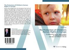 The Protection of Children's Human Rights in Europe kitap kapağı
