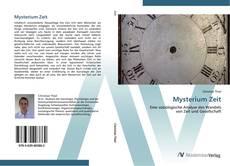 Capa do livro de Mysterium Zeit