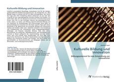 Couverture de Kulturelle Bildung und Innovation