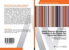 Buchcover von Kants Theorie des ewigen Friedens & die Charta der Vereinten Nationen