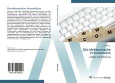Bookcover of Die elektronische Personalakte