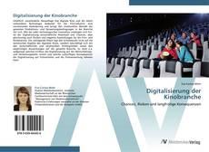 Bookcover of Digitalisierung der Kinobranche