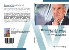 Capa do livro de Demographischer Wandel auf Personalebene