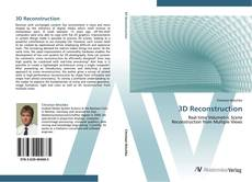 Capa do livro de 3D Reconstruction
