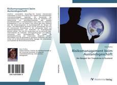 Bookcover of Risikomanagement beim Auslandsgeschäft