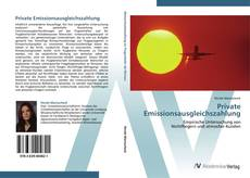 Bookcover of Private Emissionsausgleichszahlung
