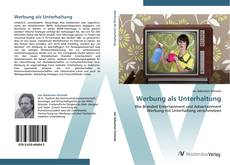Buchcover von Werbung als Unterhaltung