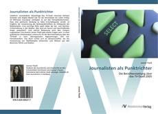 Bookcover of Journalisten als Punktrichter
