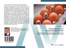 Buchcover von Transparenz der Verpackungskosten