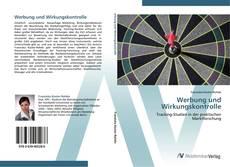 Bookcover of Werbung und Wirkungskontrolle