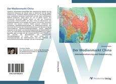 Capa do livro de Der Medienmarkt China