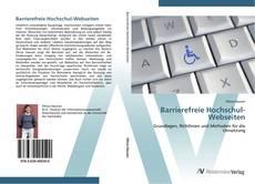Buchcover von Barrierefreie Hochschul-Webseiten