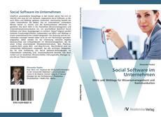 Buchcover von Social Software im Unternehmen