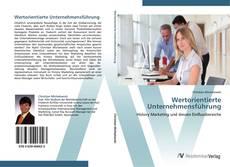 Wertorientierte Unternehmensführung kitap kapağı