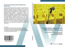 Borítókép a  Integrationspotentiale öffentlicher Meinung - hoz