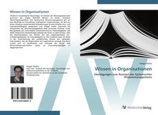 Portada del libro de Wissen in Organisationen