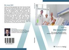 Borítókép a  Die neue GKV - hoz