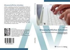 Bookcover of Wissenschaftliches Schreiben