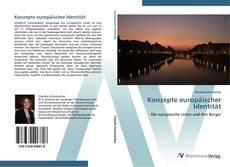Couverture de Konzepte europäischer Identität
