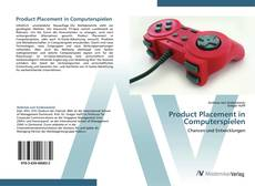 Bookcover of Product Placement in Computerspielen