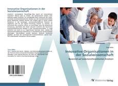 Portada del libro de Innovative Organisationen in der Sozialwissenschaft