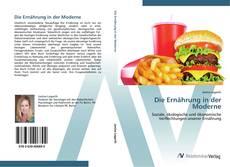 Capa do livro de Die Ernährung in der Moderne