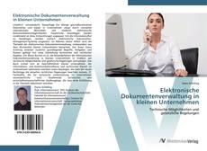 Borítókép a  Elektronische Dokumentenverwaltung in kleinen Unternehmen - hoz