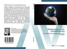 Rechtsstreit in der Globalisierung kitap kapağı