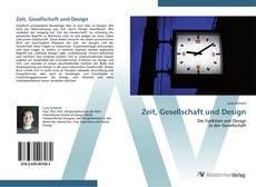 Zeit, Gesellschaft und Design kitap kapağı