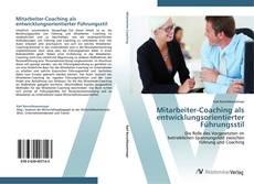 Обложка Mitarbeiter-Coaching als entwicklungsorientierter Führungsstil