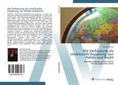 Buchcover von Die Verfassung als strukturelle Kopplung von Politik und Recht