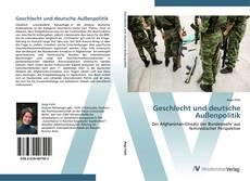 Bookcover of Geschlecht und deutsche Außenpolitik