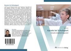 Portada del libro de Karate im Schulsport