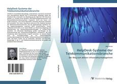 Bookcover of HelpDesk-Systeme der Telekommunikationsbranche