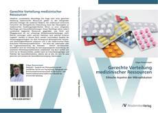 Buchcover von Gerechte Verteilung medizinischer Ressourcen