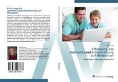 Buchcover von Erfassung der Aufmerksamkeitsverteilung auf Webseiten